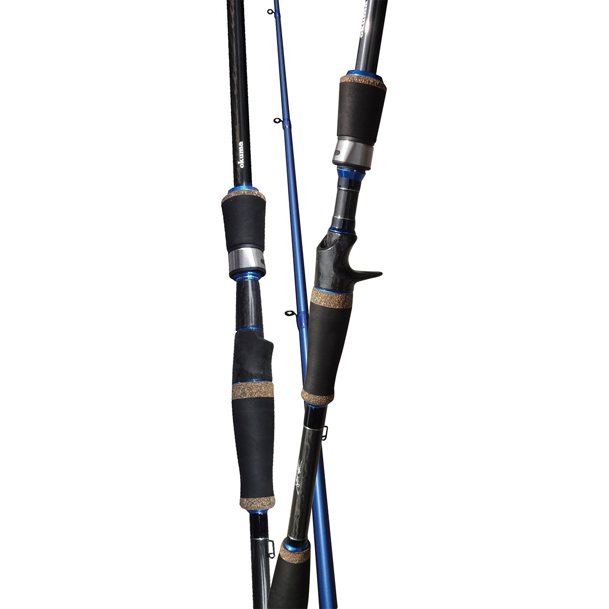 Okuma bass fishing rods fishbone knives for Bass pro fishing rods